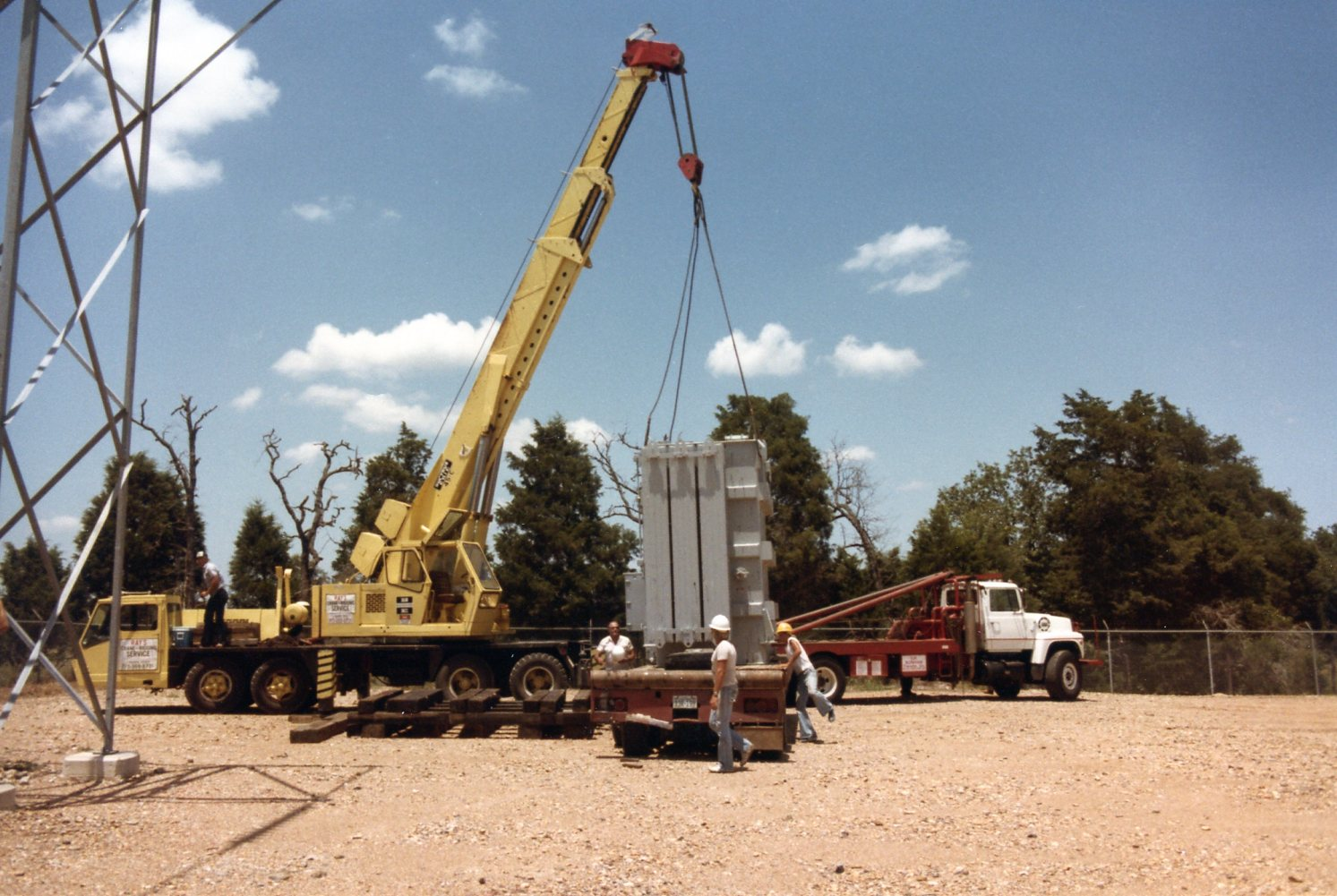 Moving transformer to Willow Springs