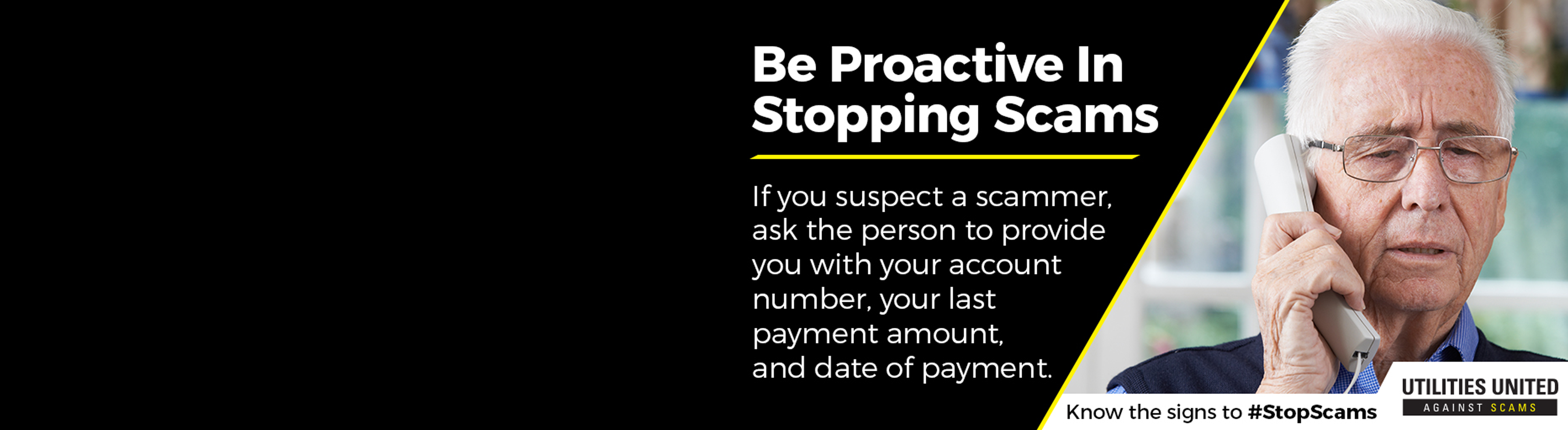 Be Proactive in Stopping Scams